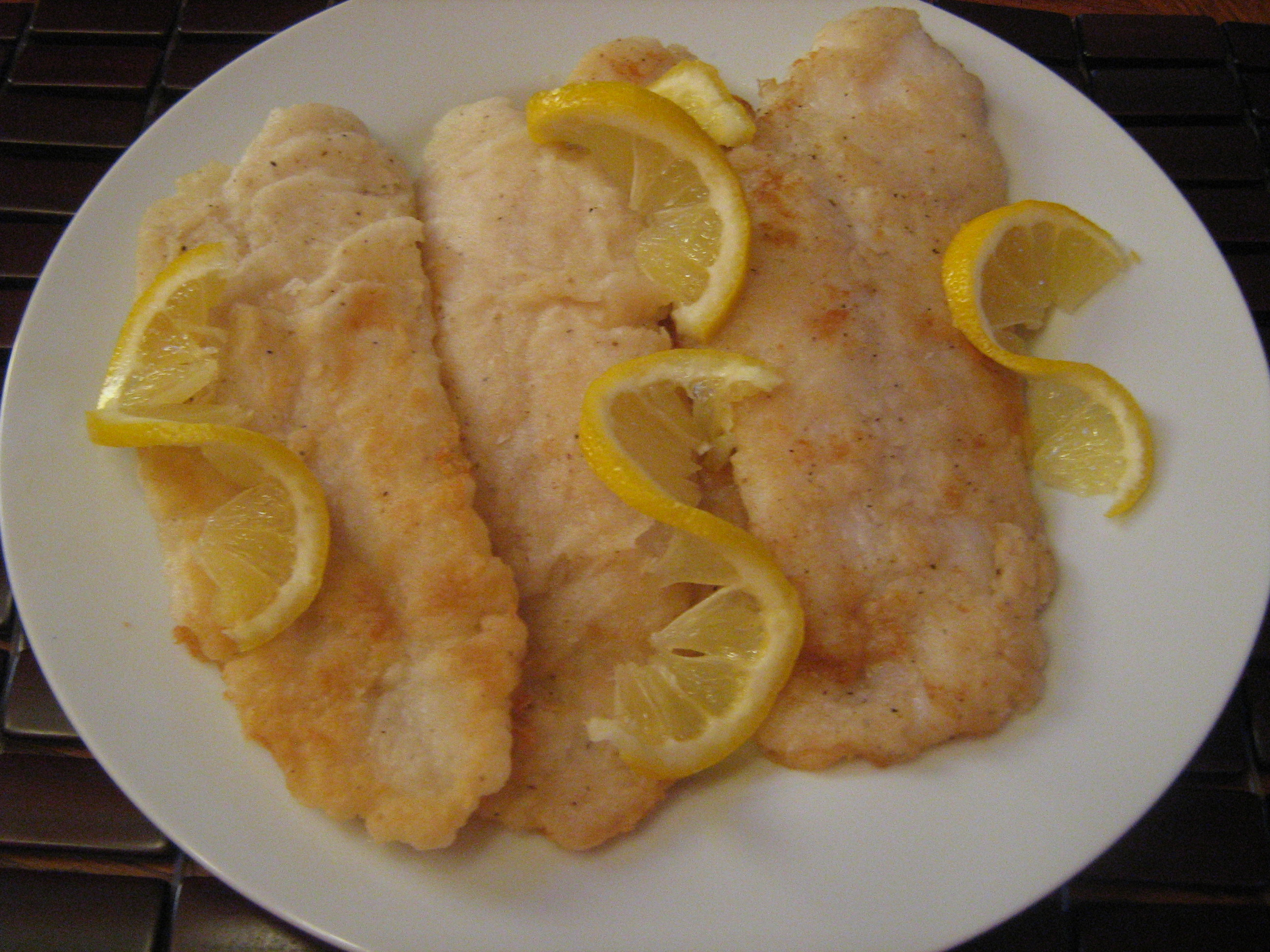 Fried Basa Fish