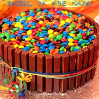 KitKat and M&Ms Cake