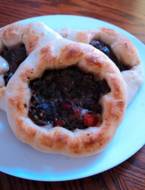 Mini Meat Pides
