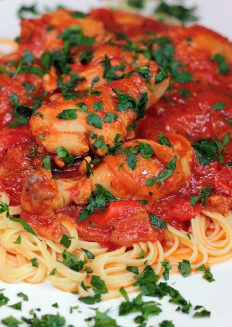 how to make chicken cacciatore youtube