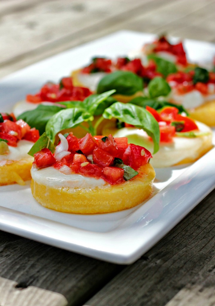Polenta with Tomatoes and Bocconcini