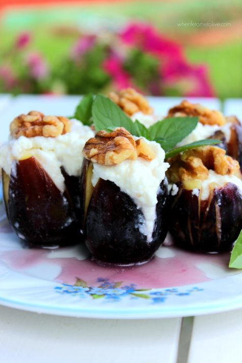 Figs with Ricotta
