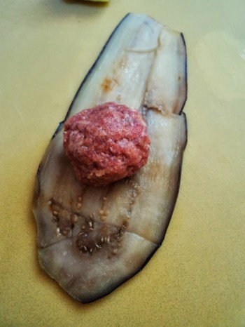 Meatball with Eggplant
