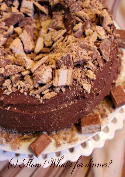 Coffee Crisp Chocolate Cake