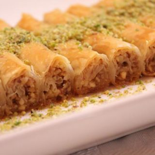 Lady finger baklava