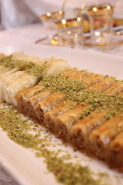 Baklava has earned quite a reputation for being difficult to make, with endless, cracking layers of dough and equally endless lashings of butter. This version is made using two buttered sheets of phyllo at a time plus 3 spoonfuls of filling, rolled into long logs, placed in the pan and psychirwifer.mls:
