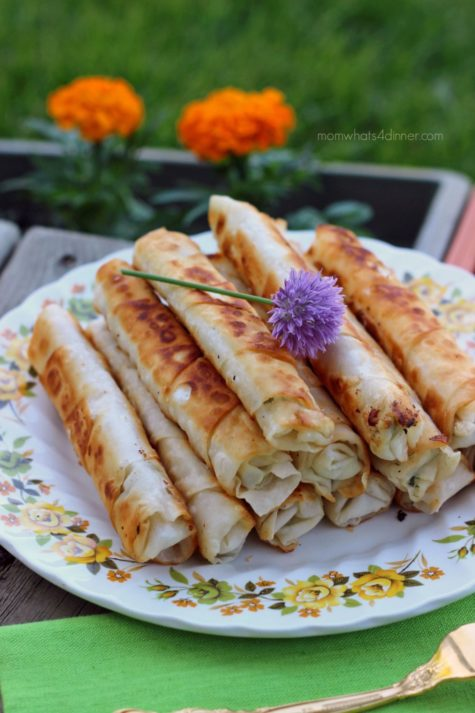 Cigar Burek with Feta and Parsley
