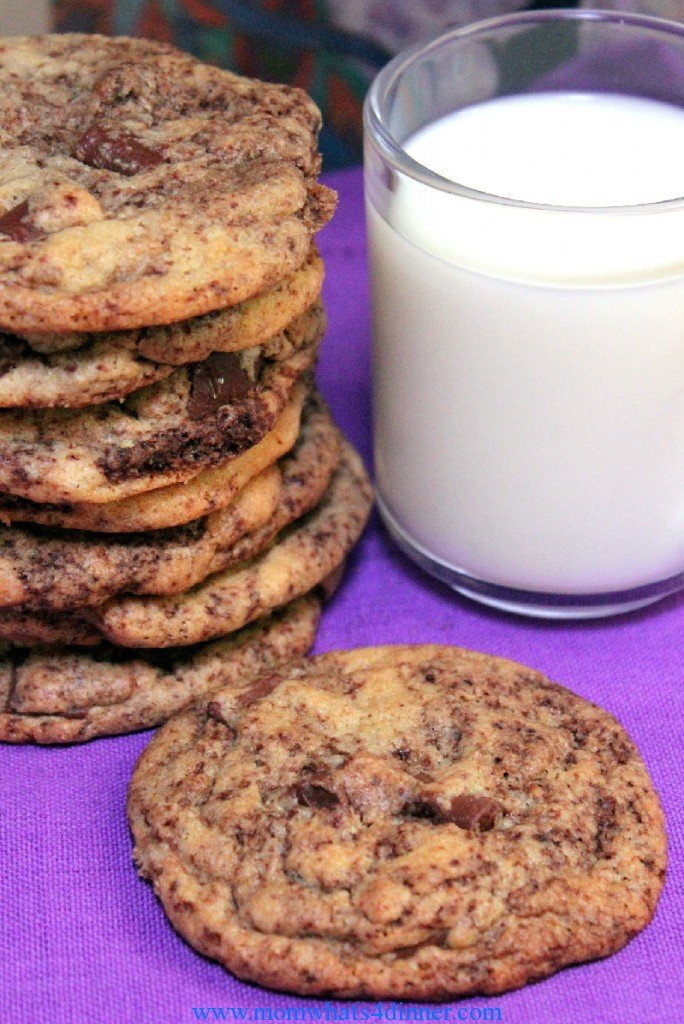 Can't get better than a nice cold glass of milk with cookies!