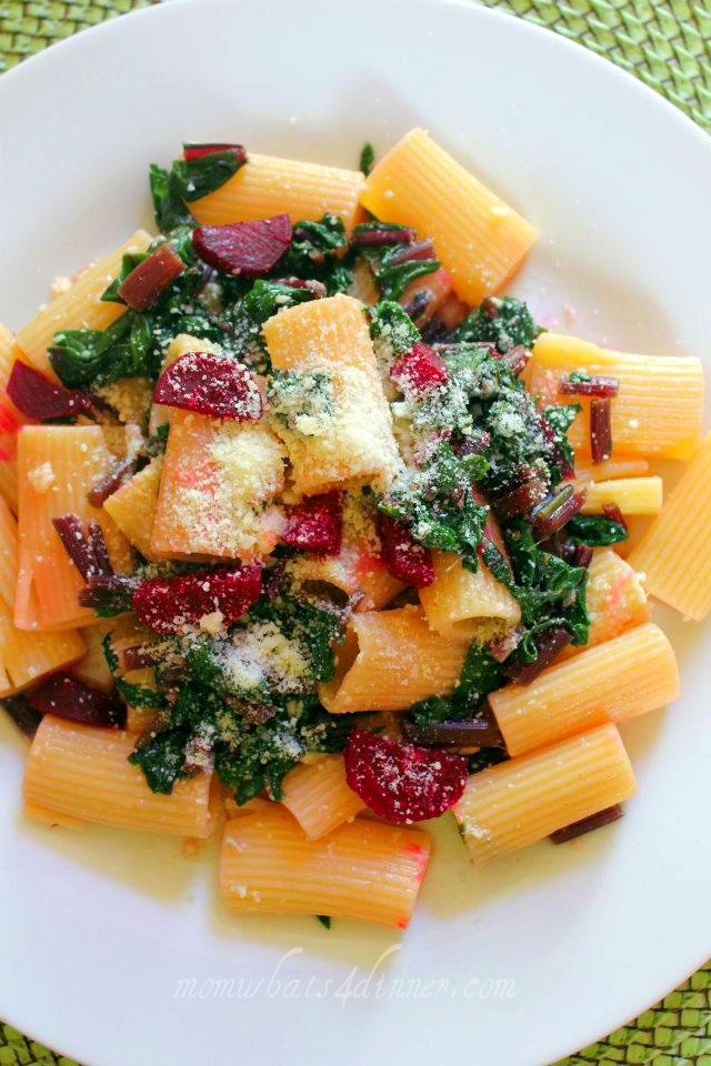Rigatoni with Beets