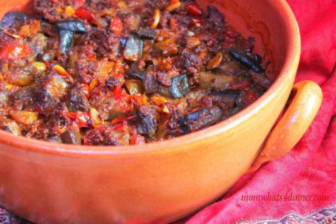 Baked Eggplant Stew