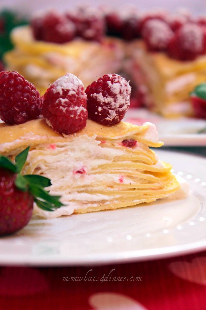 Crepe Cake with Berries | Mom! What's for dinner?