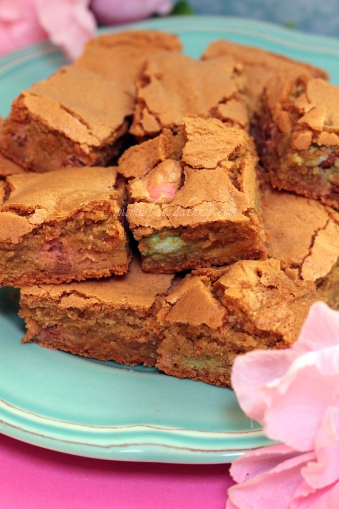 Blondie Brownies with Cadbury Chocolate Eggs