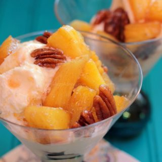 Candied Pineapple and Pecans
