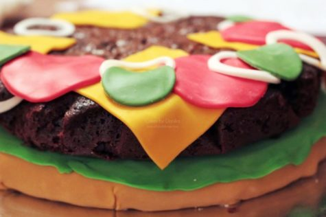 Toppings for Cheeseburger Cake