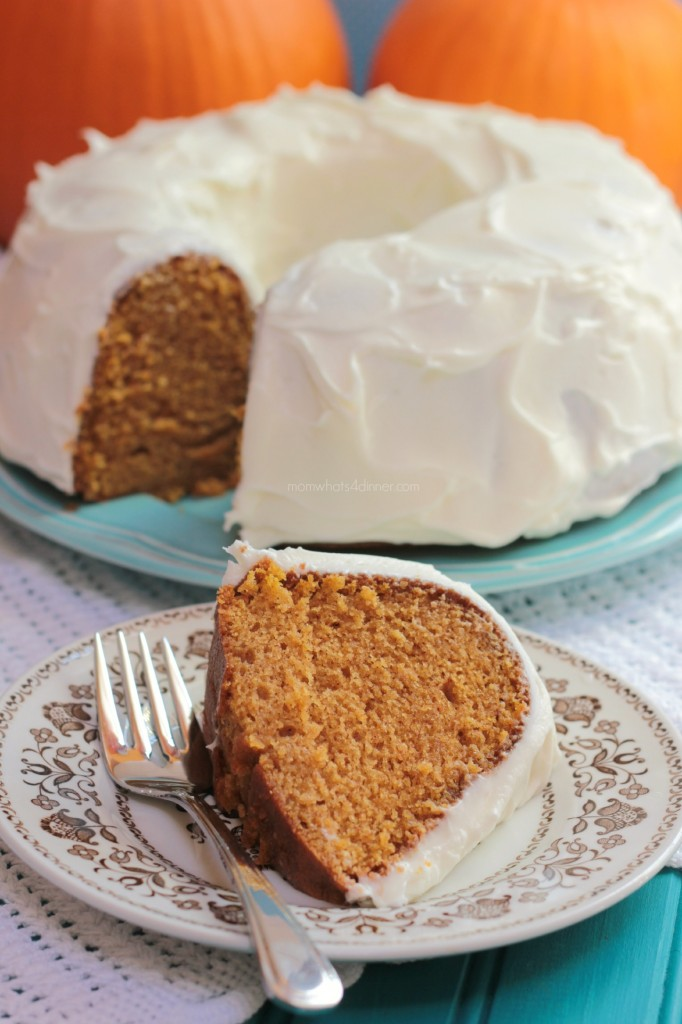 Pumpkin Cake With MapleCream Cheese Frosting Recipes ...