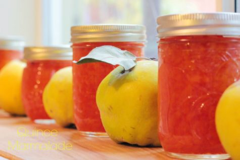 Quince Fruit with Marmalade