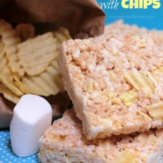 Rice Krispies Treats with Chips