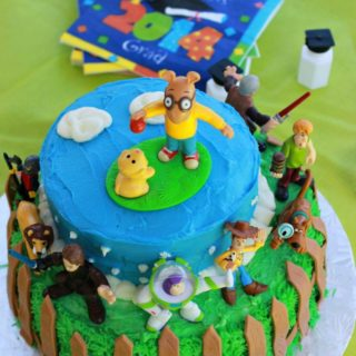 Toys over the Years Cake