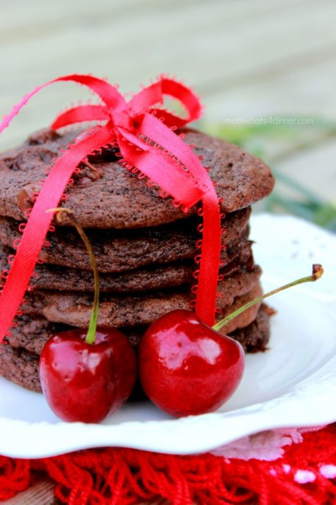 Black Forest Chocolate Chip Cookes