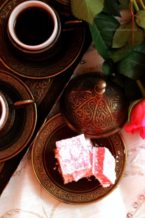 Turkish Delight -Rose Flavoured