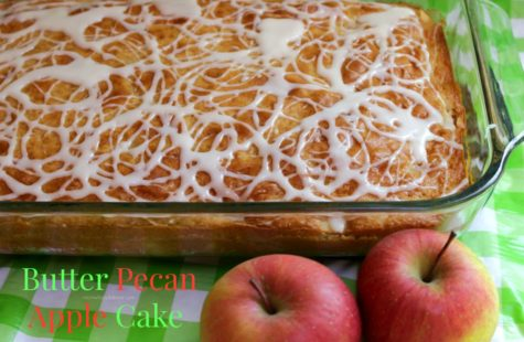 Butter Pecan Apple Cake