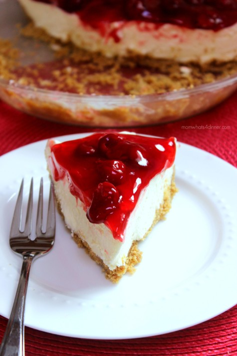 No-Bake Jello Cheesecake