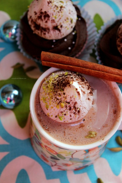 Hot Cocoa with Cardamom