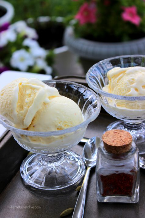 Vanilla Cardamom Ice Cream