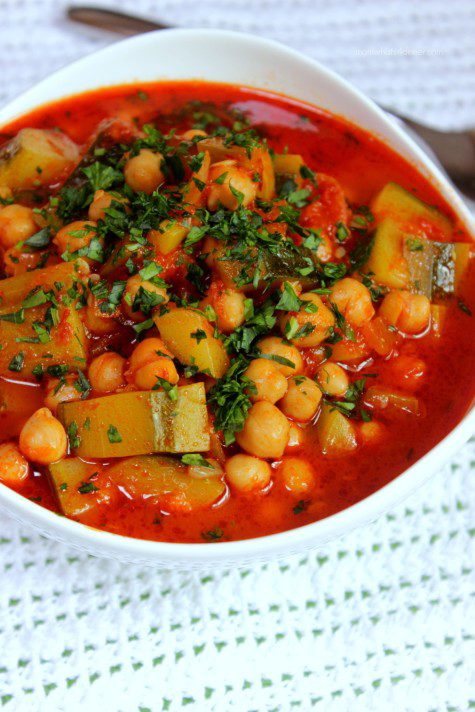 Zucchini-and-Chickpeas