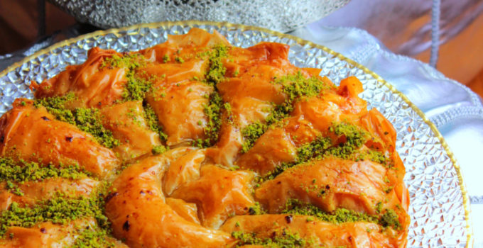 Crescent and Star Baklava